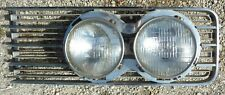 1965 65 Lincoln Continental Front Headlight Lamp Side Grill Chrome Driver LH OEM