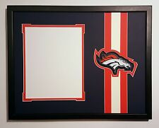 Denver Broncos 14x18 mat for 8x10 photo. Peyton Manning John Elway Von Miller