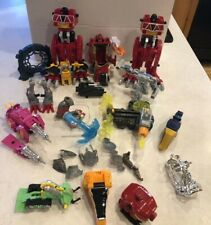 Lot Miscellaneous Power Rangers Dino Charge MegaZord Lots Misc Items