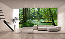 Forest Wall Mural Photo Wallpaper GIANT DECOR Paper Poster Free Paste