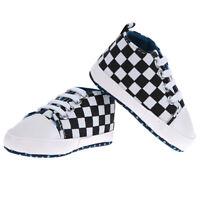 Infant Baby Boys Girls Soft Sole Crib Shoes Prewalker Size Newborn To 18 Months