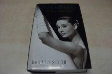 ENCHANTMENT The Life of Audrey Hepburn by Donald Spoto  LARGE PRINT  Hrdcvr w/DJ