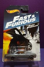 2017 Hot Wheels FAST & FURIOUS '70 PLYMOUTH ROAD RUNNER No.3/8, Mint Long Card.