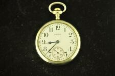 VINTAGE 16 SIZE EQUITY WATCH CO OPEN FACE POCKET WATCH OR REPAIR