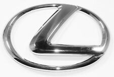"Lexus ""L"" Badge Logo Emblem Chrome GX460/LX470/IS300/LS400/GS400/RX330 5"" X 3.5"""