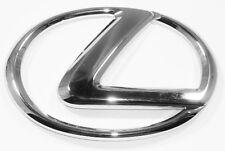 """Lexus """"L"""" Badge Logo Emblem Chrome GX460/LX470/IS300/LS400/GS400/RX330 5"""" X 3.5"""""""