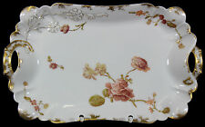 LIMOGES HAVILAND H&C L - Platte SERVIERPLATTE Prunkplatte - Flowers & Seeds