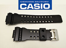 Casio ORIGINAL watch band G-Shock BLACK shiny STRAP Rubber GD-100SC GA-110HC