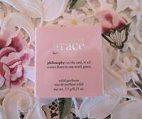 ~PHILOSOPHY~AMAZING GRACE~ Eau de Parfum SOLID Mirrored Compact~7.5 g/ .25 oz