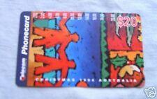 CHRISTMAS 1994  $20  AUSTRALIAN PHONECARD