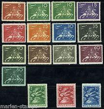 SWEDEN 1924 UPU SC#213/28 MI#159/73 MINT HINGED