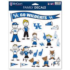 UK Kentucky Wildcats Family Sticker Set Decals