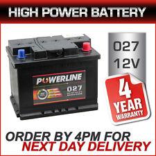 12V Heavy Duty Car Van Battery Pline 027 - 4 Yr Wty fits Skoda Toyota Volvo VW