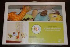 Crib Musical Mobile Circo Jungle Stack Safari Elephant Giraffe Owl Turtle New
