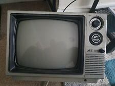 RETRO NEC 12P63 VINTAGE PORTABLE RARE TELEVISION
