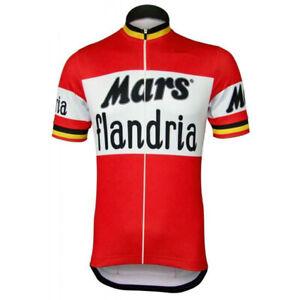 mens cycling jerseys Retro Mars Cycling Jersey