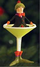 Patience Brewster MINI OLVER MARTINI ornament KRINKLES CUTE #08-30836