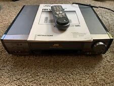 Jvc Hr-Vp618U Video Cassette Recorder Vhs Player Preowned Remote Manual