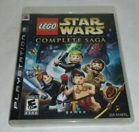 LEGO Star Wars The Complete Saga (Sony PlayStation 3, 2007) PS3 Complete CIB
