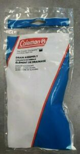 Coleman Authentic Drain Assembly  (not Xtreme Coolers) 3000005299 : 1 & 2 pack