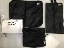 MONTBLANC GIVEAWAY TRAVEL BAGS FOR CLOTH, SHOE & ACCESSORIES - NEW IN DUST BAG