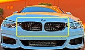 Genuine BMW Black M Performance Black 2 x Grilles 4 Series  51712336813 & 814 UK