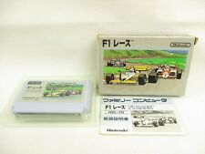 F1 RACE Item REF/bdc Famicom Nintendo Japan Game fc