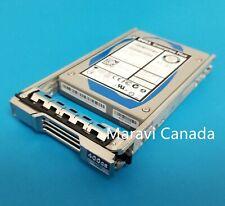 """Dell Equallogic 2.5"""" 400GB SAS SSD 6G Enterprise Plus X10NT 18KYH LB406M w/ Tray"""