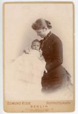 Prinzessin Augusta-Victoria & Friedrich Wilhelm Vintage silver print.Guillaume
