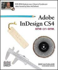 Adobe InDesign CS4 One-on-One, David Futato, Deke McClelland, New, Paperback