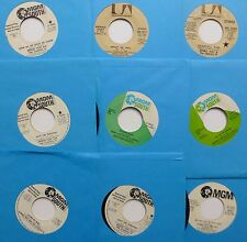 DENNIS YOST & The CLASSICS IV Lot of 9 x 45 rpm Pop   e036