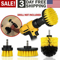Drill Brush Set Power Scrubber Drill Attachments For Carpet Tile Grout Cleaning