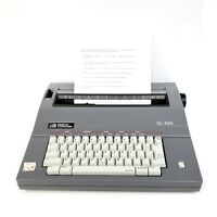 Vintage Smith Corona Portable Electric Typewriter SL460 W/ Cover