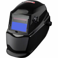 Lincoln Electric Auto-Darkening Welding Helmet w/ Grind Mode — Glossy Black