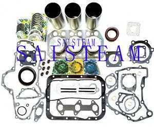 Mitsubishi Engine Rebuild Kit fit WESTERBEKE Generator Model W-21A 8.0 BTD