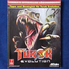 PS2 - GameCube - Xbox ► Offizielles Lösungsbuch - Turok Evolution ◄ PRIMAGAMES