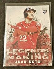 2018 Topps Update Legends In The Making Rookie Juan Soto