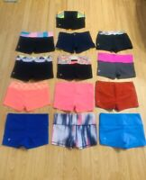 NWOT LULULEMON IVIVVA sz 12 REVERSIBLE BOOGIE SHORTS VARIETY COLORS Size 2 & 4