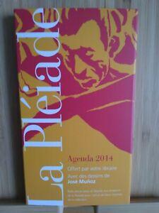 La Pléiade Agenda 2014 Con Funda Y Teléfono Blanco
