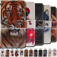 Fashion Stand Cover Flip Wallet Card Magnetic Phone PU Leather Case For Huawei