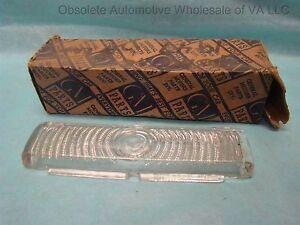 1947 Pontiac Streamliner Torpedo Right Hand Fender Light Lamp Lens Glass 5936792