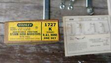 Vintage Stanley No 1727 Storm Sash Fastener NOS Original Box