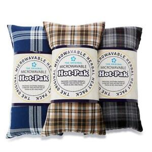 Hot-Pak Microwavable Tartan Heat Pack Pain Relief Lavender Scented Wheat Wrap