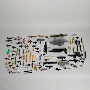 100 X Mix weapon bundle Star Wars Action man TMNT Weapons & Accessories Bundle