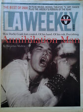DARBY CRASH (GERMS) - COVER STORY -  LA WEEKLY - DEC. 29, 2000 - JAN. 4, 2001