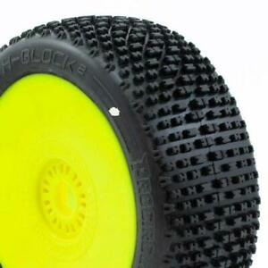 Procircuit H-BLOCK v2 Pre-Glued Wheel and Tyres (1 pair) C1-C3 Compounds