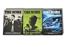 The Wire - The Complete Seasons 1-3 (DVD, 2006, 15-Disc Set)