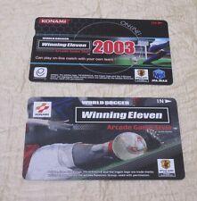 2003 KONAMI WINNING ELEVEN ID CARDS