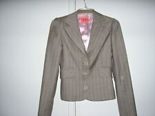 JUICY COUTURE 100% VIRGIN WOOL BLAZER  SIZE P  ECON