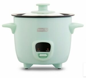 """Dash 2-Cup Rice Cooker """"Keep Warm"""" Feature, Cup, Paddle, Recipes. Various Colors"""